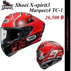 หมวกกันน็อคSHOEI X-spirit3 Marquez4 TC-1