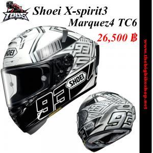หมวกกันน็อคSHOEI X-spirit3 Marquez4 TC6