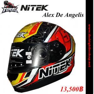 หมวกกันน็อค NiTEK P1 Alex De Angelis