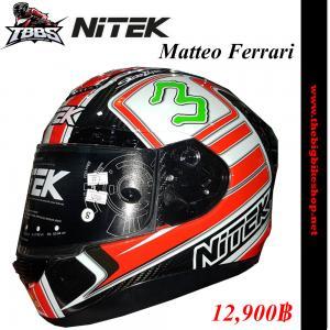 หมวกกันน็อค NiTEK P1 Matteo Ferrari