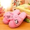 รองเท้าใส่ในบ้าน ออฟฟิศ ฮัลโหลคิตตี้ Hello kitty#11 ขนาด free size พื้นสีชมพู