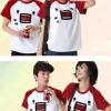 ++สินค้าพร้อมส่งค่ะ++ Lover set เสื้อคู่รัก collar Red เซ็ท ผู้ชาย+ผู้หญิง – สีแดง