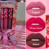 CB304 #LIMECRIME Velvetines True Love Set (Limited Edition) . เซ็ทลิปลิควิคเนื้อแมท 3 สีสวยต่างสไตล์ บ่งบอกความเป็นหญิงสาวในแต่ละอารมณ์ได้อย่างชัดเจน ทั้งสีชมพูโทนหวาน สีชมพูอมแดงเปรี้ยวจี้ด และสีแดงเข้มอมม่วงสุดเซ็กซี่