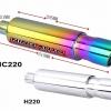 แสตนเลสแท้ไทเทเนียมเต็มใบ รุ่น HC220, HC224, HC225