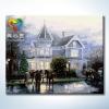 รหัส HB4050080 ภาพระบายสีตามตัวเลข Paint by Number แบบ Castle Villa ขนาด40x50cm/พร้อมส่ง