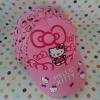 หมวกเด็ก ฮัลโหลคิตตี้ Hello kitty ลายฮัลโหลคิตตี้โบว์ สีชมพู