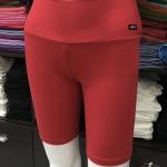 ซับในกางเกงขาสามส่วน สีแดง