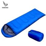 ถุงนอนแคปปิ้ง ถุงนอนกันหนาว ถุงนอนพกพา (สีฟ้า)