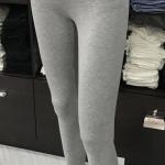 เลคกิ้ง กางเกงขายาว สีเทาท็อปดราย
