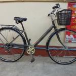 จักรยานแม่บ้านญี่ปุ่น มีรู มีเกียร์ ล้อดุมไฟโซล่า