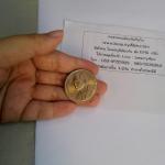 ประมูล เหรียญ 20 บาท ปีสิ่งแวดล้อมอาเซียน ปี 2538 เนื้อนิเกิล