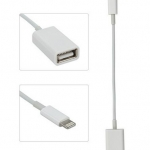 (พร้อมส่ง) สาย OTG USB Female Adapter Cable for IPhone / IPAD