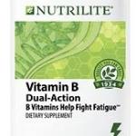 Nutrilite Vitamin B Dual-Action วิตามินบี สูตรใหม่(ละลายช้าและเข้มข้นกว่าเดิม 3 เท่า) ทาน 1 เม็ด ใช้งานได้ถึง 8 ชั่วโมง