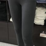เลคกิ้ง กางเกงขายาว สีเทาดิน