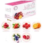 L- Gluta Berry Plus (แอล-กลูต้าเบอรี่ พลัส) ราคาถูก ขายปลีก-ส่ง น้ำผลไม้ผสมคอลลาเจนจากปลาทะเลถึง 3000 mg.