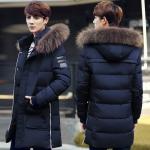 Pre Order เสื้อโค้ทตัวยาวเทรนด์แฟชั่น ฮู้ดแต่งขนสัตว์ถอดได้ สุดเท่ห์ สไตล์เกาหลี มี5สี