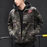 Pre Order เสื้อแจ็คเก็ตแขนยาวสไตล์เกาหลี แต่งลายคลาสสิก มี4สี