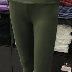 ซับในกางเกงขาสี่ส่วน สีเขียวขี้ม้า