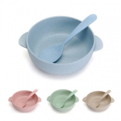 Little bowl with spoon ชามเยื่อไผ่จิ๋ว