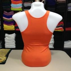 เสื้อกล้ามหลังสปอร์ต สีส้มสด