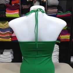 ผูกคอ สีเขียวสด