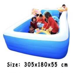Inflatable pool สระเป่าลมใหญ่