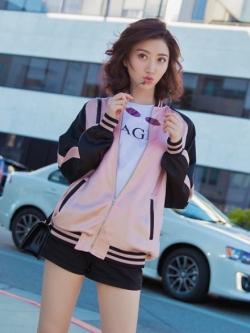 Pre Order เสื้อแจ็คเก็ตเบสบอลแขนยาว แนวเกาหลีสุดชิค สไตล์ Harajuku