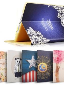 เคส iPad4/3/2/mini พิมพ์ลายการ์ตูนน่ารัก มี7สี