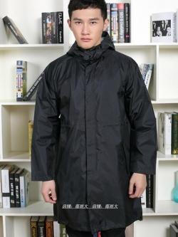 เสื้อกันฝนตัวยาวเกาหลี แนวTravel แต่งฮู้ด มี2สี