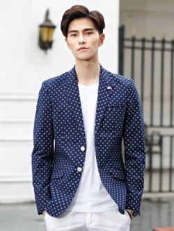 เสื้อสูทแขนยาวเกาหลี แนวเบลเซอร์ ดีไซน์แฟชั่น มี3สี