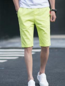 กางเกงขาสั้นเกาหลี แนวลำลอง เรียบสวย มี5สี