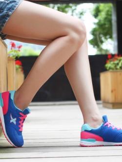 รองเท้าวิ่งผ้าใบเกาหลี XTEP แนวSport ลำลอง มี5สี