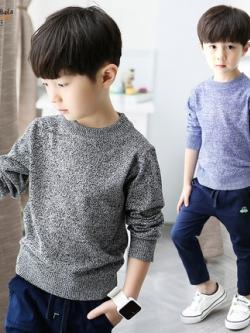 เสื้อแฟชั่นแขนยาวเกาหลี แนวสเวตเตอร์ถักนุ่ม มี4สี