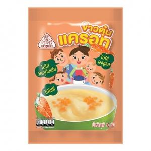ข้าวตุ๋นแครอท Grinded Jasmin Rice with Carrot (Pack 6)