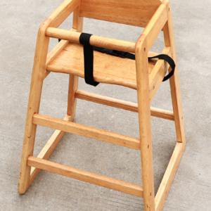 เก้าอี้สูงไม้ ซ้อนได้ Wooden Stack Highchair