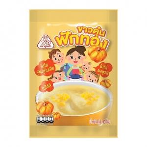 ข้าวตุ๋นฟักทอง Grinded Jasmin Rice with Pumpkin (Pack 6)