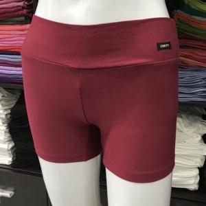 ซับในกางเกงขาสั้น สีแดงโรส