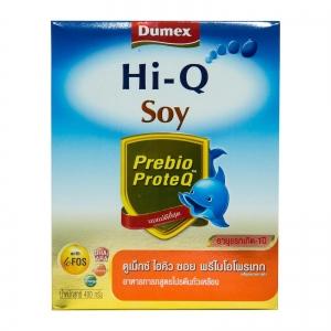 Dumex Hi-Q Soy ไฮคิว ซอย พรีไบโอโพรเทก 400 กรัม