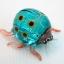 แมลงเต่าทองแก้วเป่า Glass Figurine ฺBlue Ladybug thumbnail 4