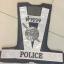 เสื้อสะท้อนแสงตำรวจ ตัว V ไม่มีขอบ ซิปกลาง thumbnail 4
