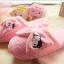 รองเท้าใส่ในบ้าน ออฟฟิศ ฮัลโหลคิตตี้ Hello kitty#11 ขนาด free size พื้นสีชมพู thumbnail 4
