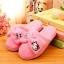 รองเท้าใส่ในบ้าน ออฟฟิศ ฮัลโหลคิตตี้ Hello kitty#11 ขนาด free size พื้นสีชมพู thumbnail 1