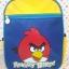 """กระเป๋าเป้สะพายหลัง แองกี้เบิร์ด Angry Bird ไซส์ 12.5"""" : ขนาดกว้าง 14 ซม. * ยาว 23 ซม. * สูง 31 ซม. thumbnail 1"""