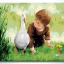 รหัส HB4050235 ภาพระบายสีตามตัวเลข Paint by Number แบบ Friendly go hand in hand ขนาด40x50cm/พร้อมส่ง thumbnail 1