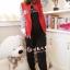 ++สินค้าพร้อมส่งค่ะ++ เสื้อ Jacket เกาหลี แขนยาว แต่งซิบหน้า ดีไซด์ Paul Frank น่ารักมากๆ ค่ะ เนื้อผ้านิ่มค่ะ – สีแดง thumbnail 3