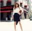 Pre Order - กระโปรงแฟชั่นเกาหลี Big Size ดีไซด์สุดเทรน สี : สีน้ำเงิน / สีไวน์แดง thumbnail 8