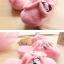 รองเท้าใส่ในบ้าน ออฟฟิศ ฮัลโหลคิตตี้ Hello kitty#11 ขนาด free size พื้นสีชมพู thumbnail 5