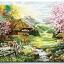 รหัส HB4050219 ภาพระบายสีตามตัวเลข Paint by Number แบบ Cottage ขนาด40x50cm/พร้อมส่ง thumbnail 1
