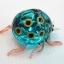 แมลงเต่าทองแก้วเป่า Glass Figurine ฺBlue Ladybug thumbnail 3