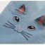 กางเกงยีนส์ขาห้าส่วน แต่งรูปหน้าแมวที่ขากางเกง thumbnail 8